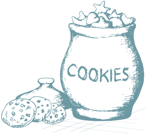 Icon: drawing of cookie jar